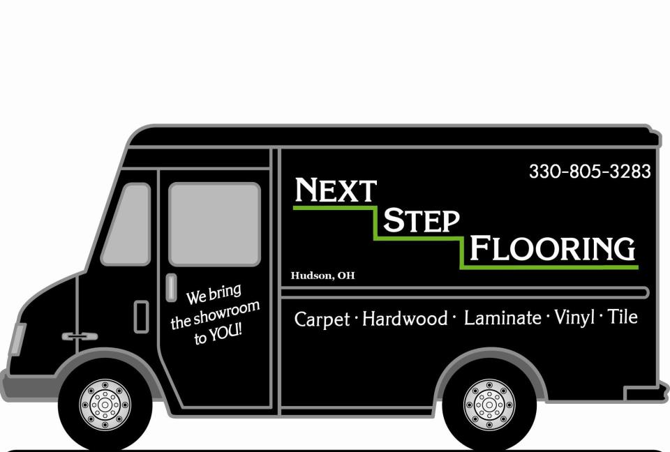 Next Step Flooring Van