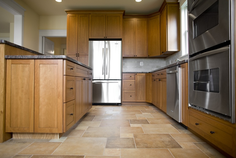 Vinyl Flooring Kitchen